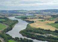 View of the River Tay near Perth