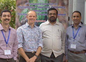 Researchers discussed the establishment of an Asian blight management network