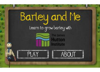 Barley and Me screenshot (c) James Hutton Institute