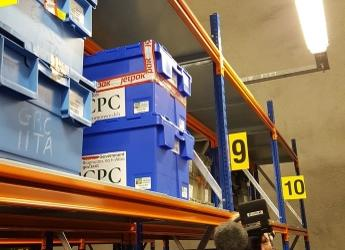 CPC seeds deposited at the Global Seed Vault in Svalbard