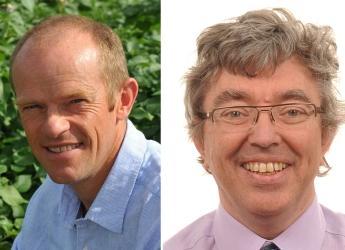 Dr David Cooke and Professor Philip J. White (c) James Hutton Institute
