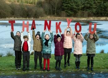 Cumbernauld Living Landscape celebration (photo Lenny Warren)