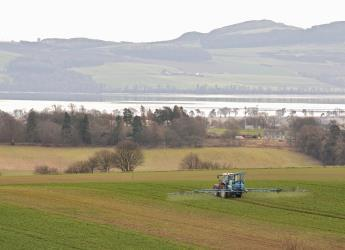 Picture of tractor farming a field (c) James Hutton Institute