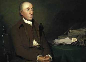 James Hutton by Sir Henry Raeburn (c) Scottish National Portrait Gallery