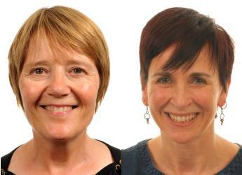 Professors Lesley Torrance (l) and Deborah Roberts (r)