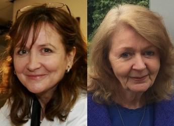Professor Lorna Dawson and Mrs Anne Pack (c) James Hutton Institute