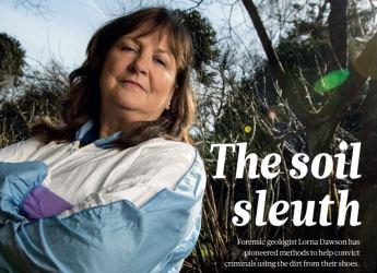 Prof Lorna Dawson features in Nature (c) Jeremy Sutton-Hibbert, Nature
