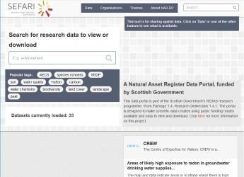 Screenshot of NAR-DP