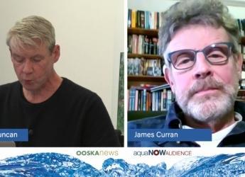 Moderator David Duncan and James Hutton Institute chair, Prof James Curran