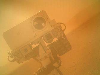 Curiosity rover (Image: NASA)