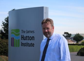 Professor Colin Campbell, Chief Executive of the James Hutton Institute