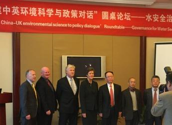 UK and Chinese scientists and policymakers met in Beijing (courtesy CEH)