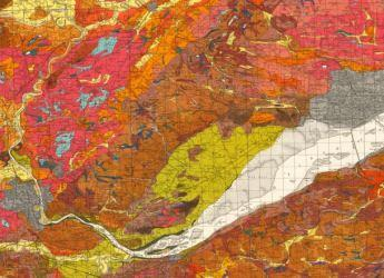 Excerpt of one inch to one mile soil map of Scotland, sheets 48 & 49