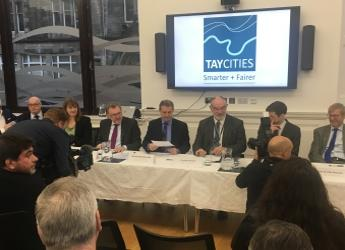 Signing of head of terms of the Tay Cities Deal (c) James Hutton Institute