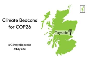 Publicity image for Tayside Climate Beacon