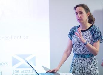 Dr Kerry Waylen, James Hutton Institute (courtesy VSO)