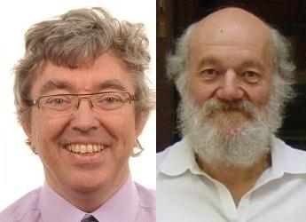Professors Philip White and John Raven (c) James Hutton Institute
