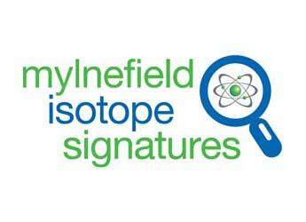 Image of the Mylnefield Isotope Signatures logo
