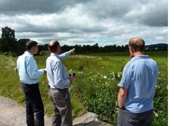 Collaboration to plan land management