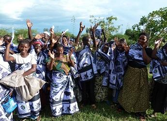 A group of African women