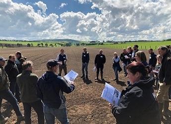 Monitor Farm in field discussion
