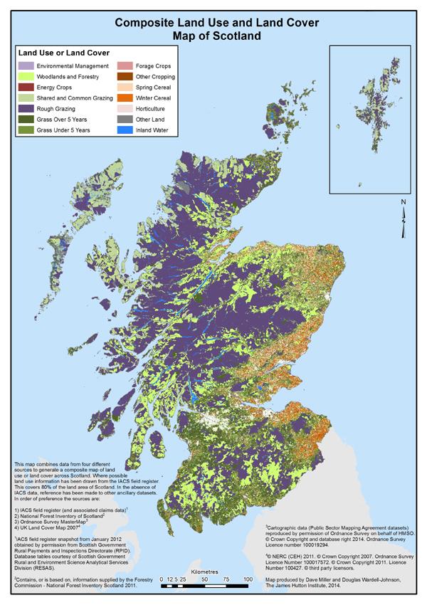 Greenspace Data The James Hutton Institute
