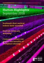 September 2018 issue of Hutton Highlights