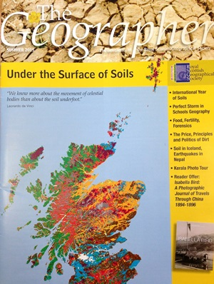 James hutton institute soil research featured in the for Soil research impact factor