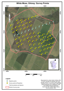 Scottish Peat Survey sites, Scottish Peat Committee and Macaulay Institute for Soil Research