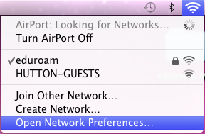 Install Eduroam on a Mac OS X computer step five