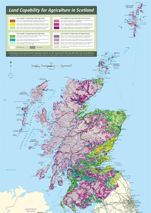 land capability for agriculture in scotland exploring scotland