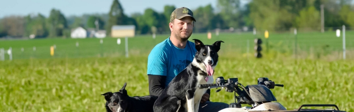 Cody Wood is a first-generation livestock farmer from Oregon, US
