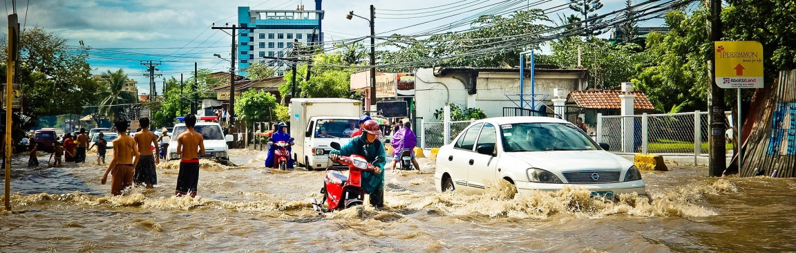 An image of urban flooding (J Lloa/Pixabay)