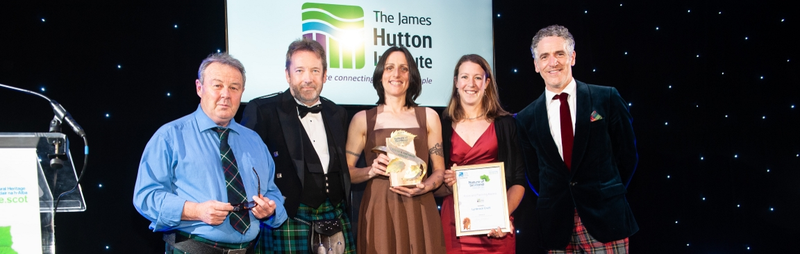 Food and Farming prizegiving at Nature of Scotland Awards (c) RSPB, S Williams