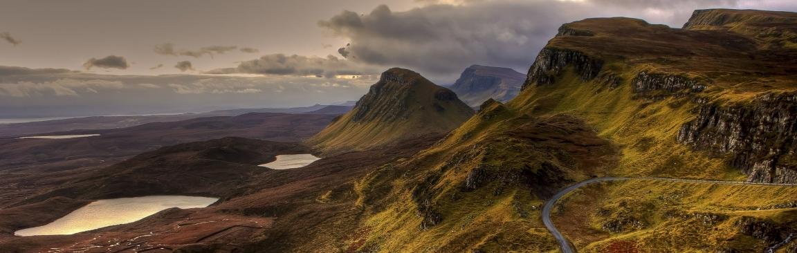 Mountains in the Scottish Highlands (Image by Frank Winkler from Pixabay)