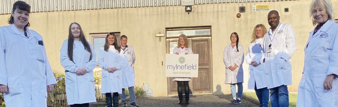 The Mylnefield Lipid Analysis team is celebrating their 25th anniversary