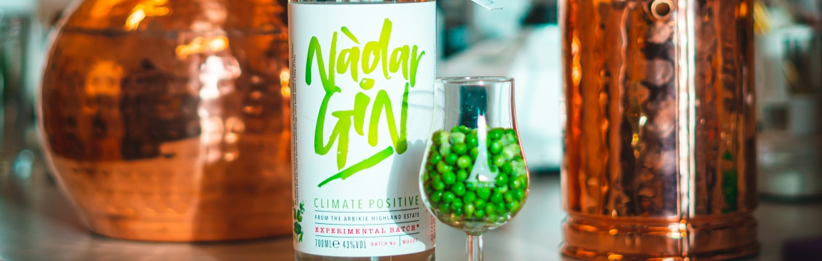 New gin Nàdar has been produced by Arbikie Distillery
