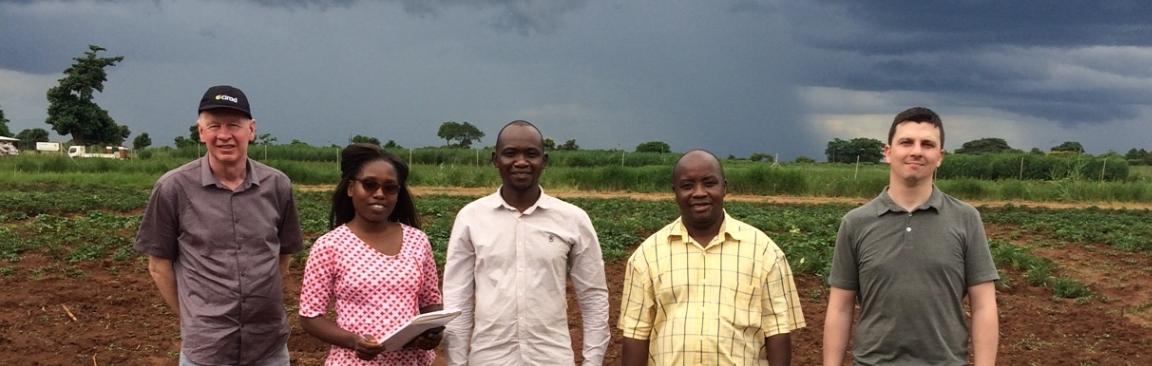 Quikgro researchers in Malawi (c) James Hutton Institute