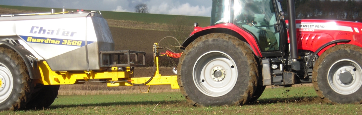 Tractor in a field (c) James Hutton Institute