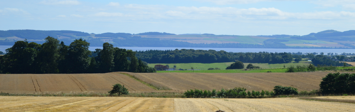 View of the River Tay from Balruddery Farm, near Dundee