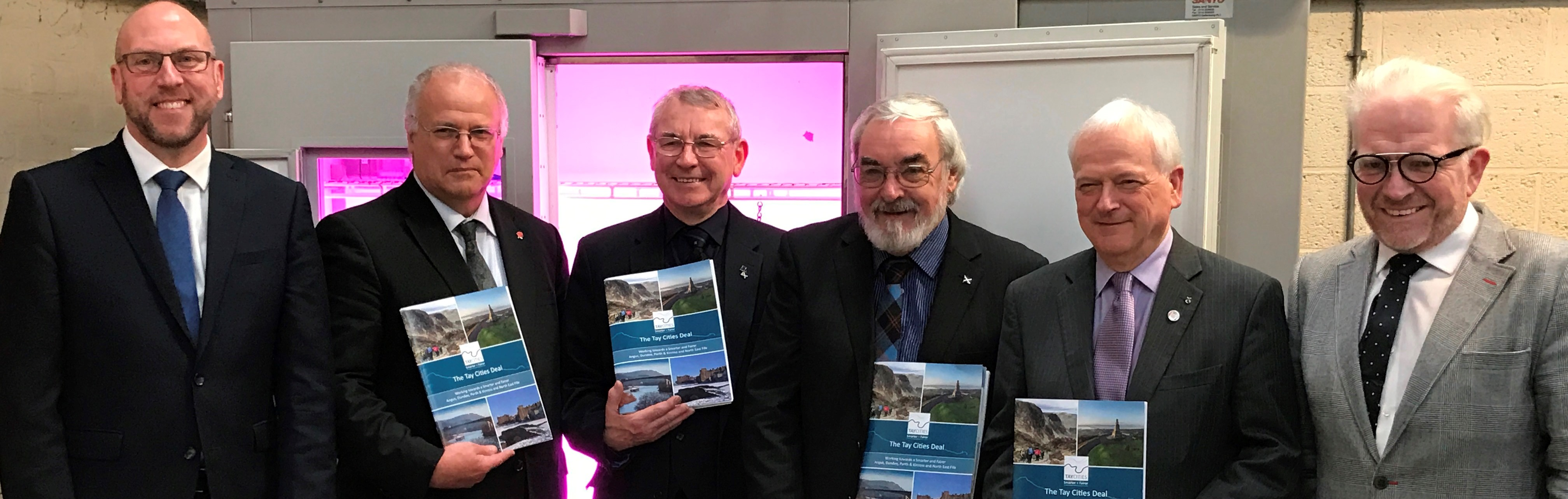 Launch of Tay Cities Deal submission (c) James Hutton Institute