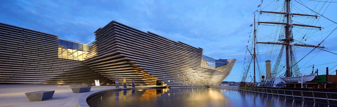 V&A Dundee museum (Photo © Hufton+Crow)