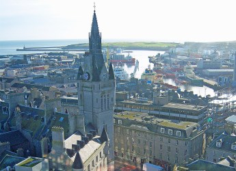 Aberdeen city centre and harbour (c) James Hutton Institute
