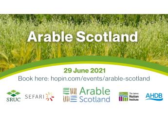 Arable Scotland 2021 promotional image