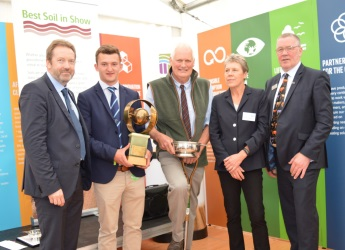 Best Soil in Show 2017 prizegiving at the Royal Highland Show
