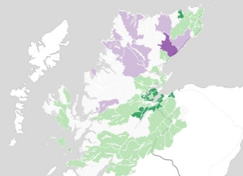 Sample map produced by the online tool (c) James Hutton Institute