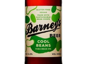 The new batch of faba bean ale was brewed by Barney's Beer in Edinburgh