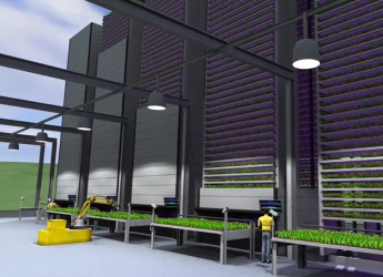 Vertical farming facility (courtesy IGS)