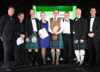 Innovation Award winners NWSS with Prof Iain Gordon (courtesy RSPB)