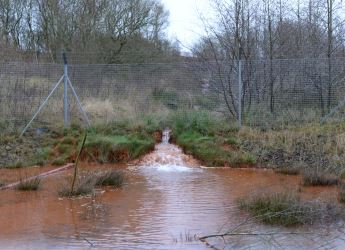 Pit water source at Kingsmills (courtesy North Lanarkshire Council)
